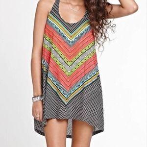 Rip Curl Tiki Goddess Beach Pullover Dress Coverup